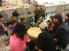 afcc youth family drumming